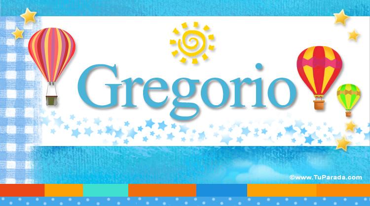 Gregorio, imagen de Gregorio