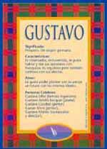Nombre Gustavo