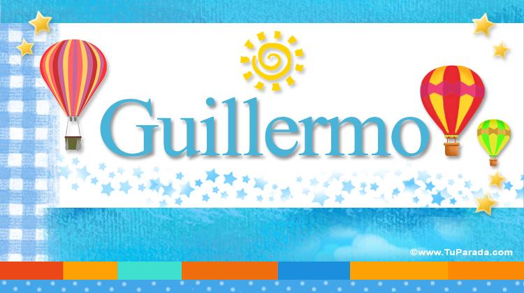 Guillermo, imagen de Guillermo