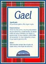 Origen y significado de Gael