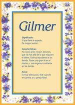 Nombre Gilmer