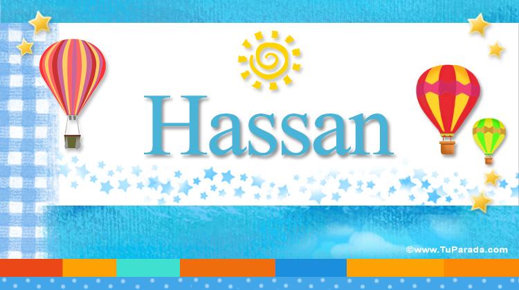Hassan, imagen de Hassan