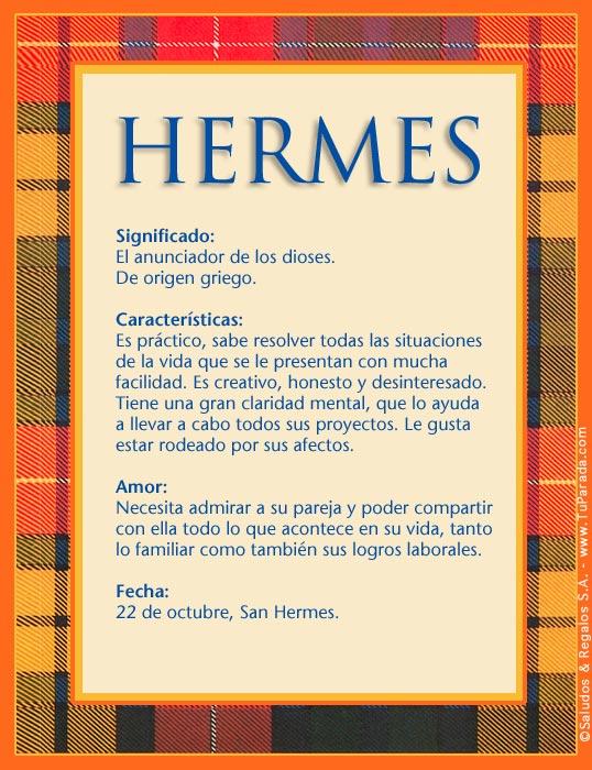Hermes, imagen de Hermes
