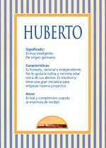 Nombre Huberto
