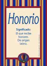 Nombre Honorio