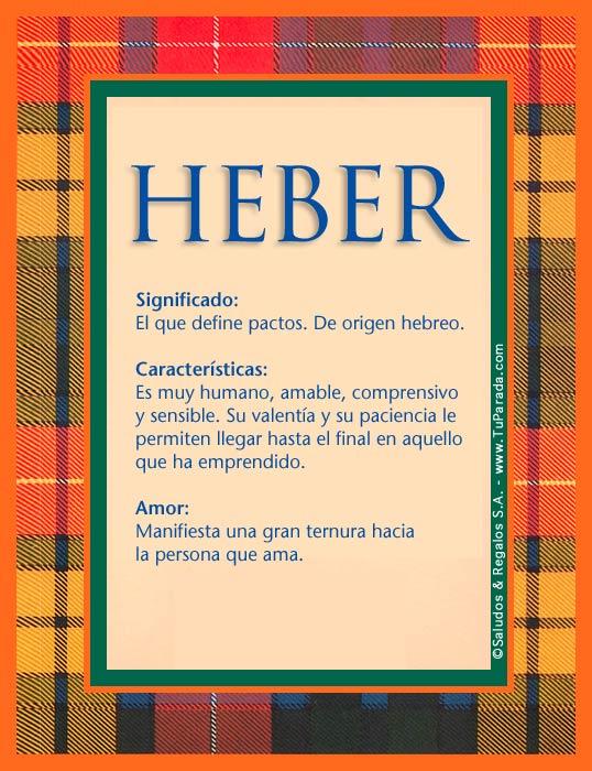 Heber, imagen de Heber