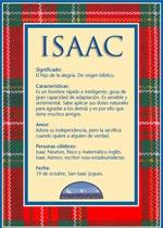Nombre Isaac