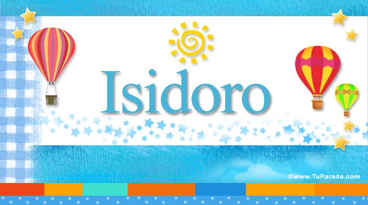 Isidoro, imagen de Isidoro