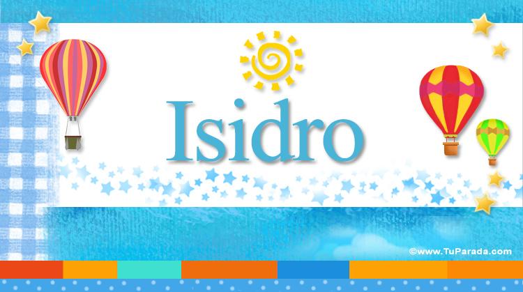 Isidro, imagen de Isidro