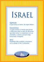 Nombre Israel