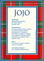 Nombre Jojo
