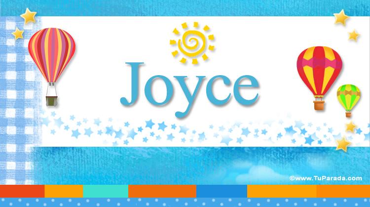 Joyce, imagen de Joyce