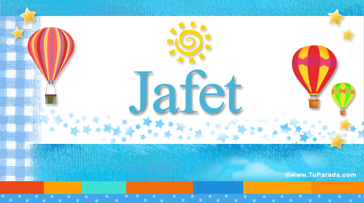 Jafet, imagen de Jafet