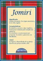 Nombre Jomiri