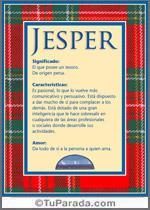Nombre Jesper