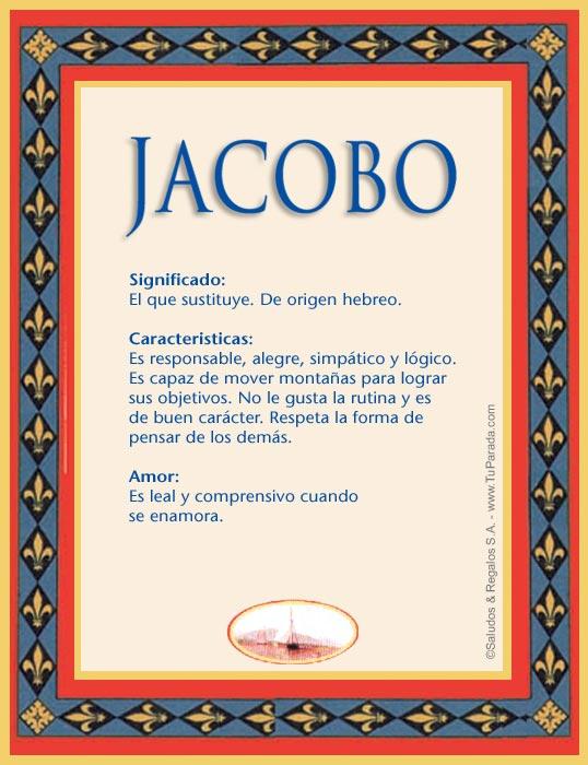 Jacobo, imagen de Jacobo
