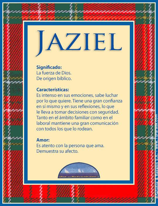 Jaziel, imagen de Jaziel