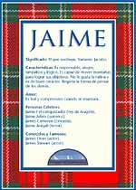 Nombre Jaime