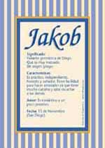Nombre Jakob