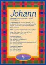 Origen y significado de Johann