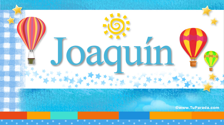 Joaquín, imagen de Joaquín
