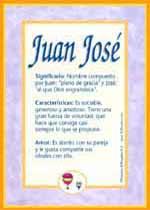 Nombre Juan José