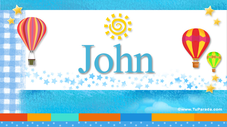 John, imagen de John