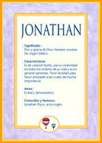 Nombre Jonathan