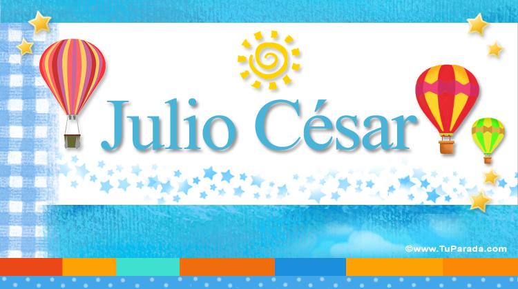 Julio César, imagen de Julio César