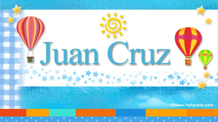Juan Cruz, imagen de Juan Cruz