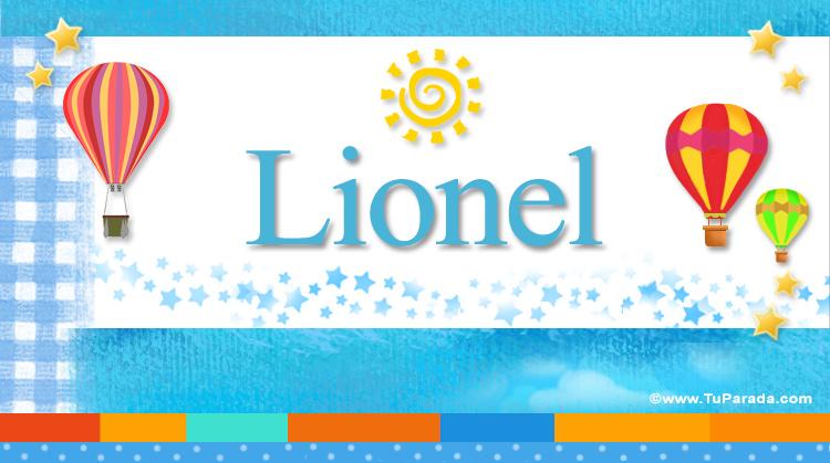 Lionel, imagen de Lionel