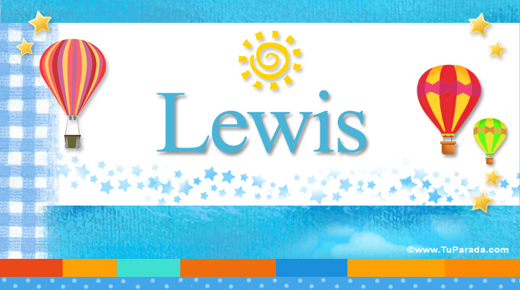 Lewis, imagen de Lewis