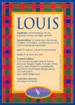 Nombre Louis