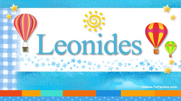 Leonides, imagen de Leonides