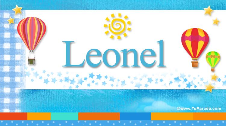 Leonel, imagen de Leonel
