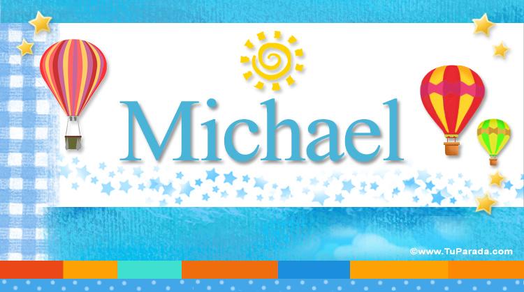 Michael, imagen de Michael