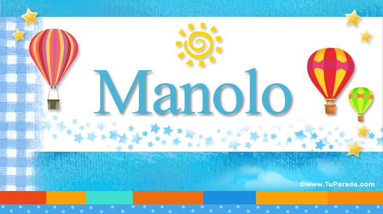 Manolo, imagen de Manolo