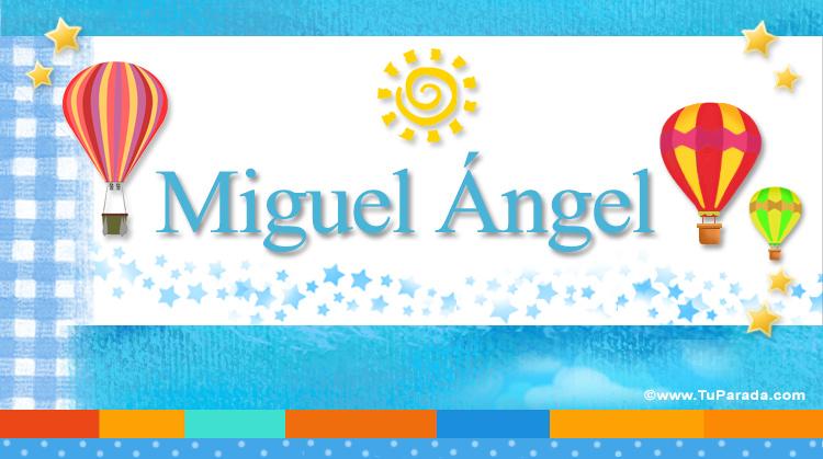 Miguel Ángel, imagen de Miguel Ángel