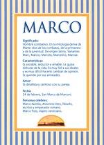 Nombre Marco