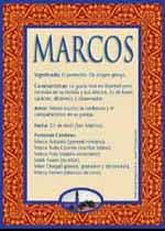 Nombre Marcos