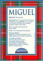 Nombre Miguel