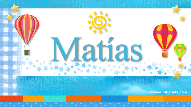 Matías, imagen de Matías