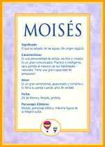 Nombre Moisés