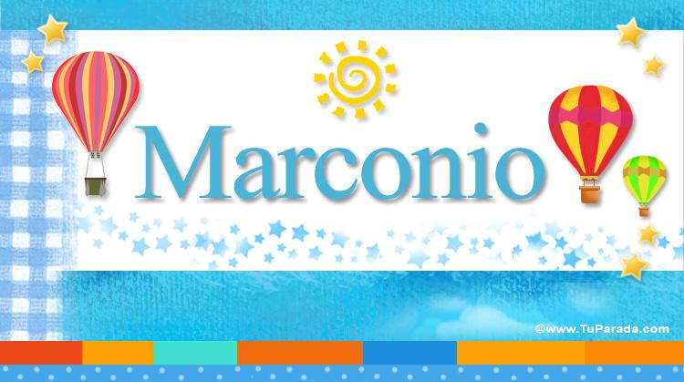 Marconio, imagen de Marconio