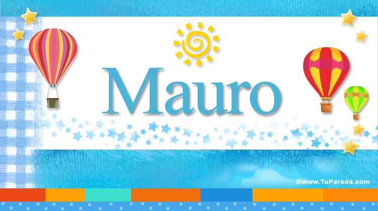 Mauro, imagen de Mauro