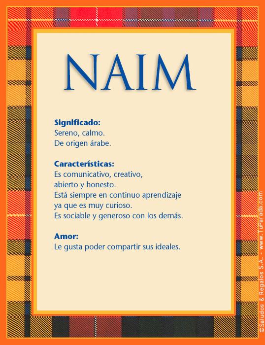 Naim, imagen de Naim