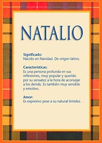 Nombre Natalio
