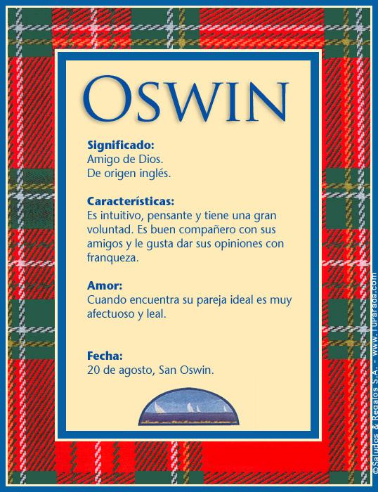 Oswin, imagen de Oswin