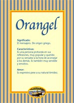Nombre Orangel