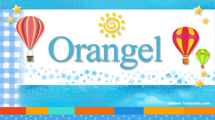 Orangel, imagen de Orangel